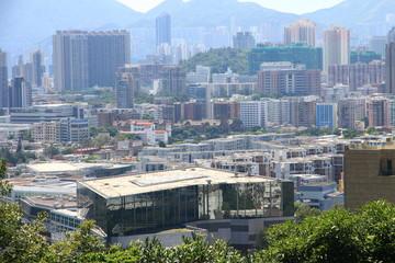 Skyline of Kowloon Peninsula, Hong Kong