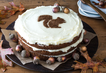 Spiced Layer Cake for autumn entertaining