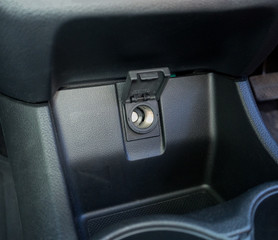 Car cigarette lighter adapter 12 volt black