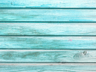aged blue painted grunge wood texture background