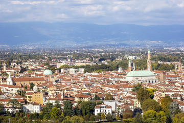City of Vicenza from Monte Berico