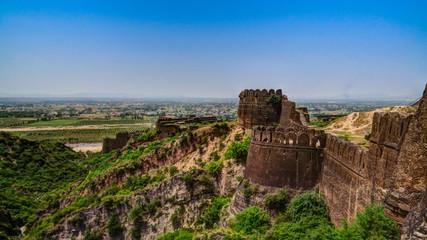 Foto auf Leinwand Befestigung Panorama of Rohtas fortress in Punjab, Pakistan
