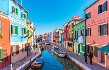 Venice (Italy) - Burano, the town of a thousand colors, an enchanted island in the heart of the Venice lagoon