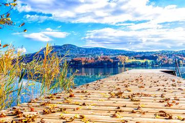 Herbst am Wörthersee - Kärnten - Österreich - Panorama