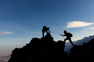 İple tırmanış mücadelesi&tırmanış sporu