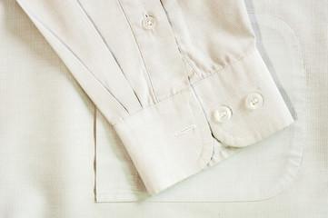 Long sleeve shirt,close up detail.