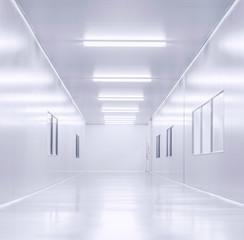modern lab interior background