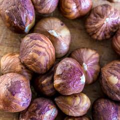 handful of hazelnuts