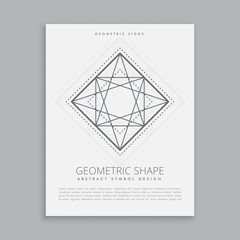 sacred religion geometric shape