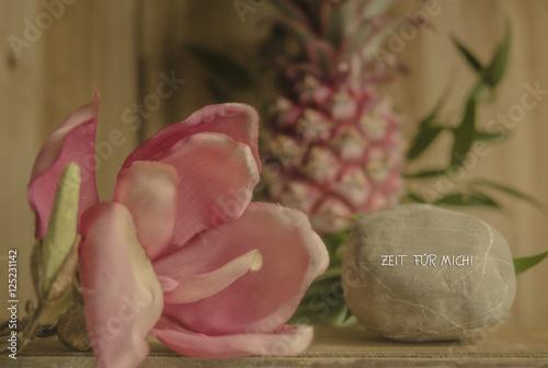 Zeit F R Mich Romantische Dekoration Stockfotos Und