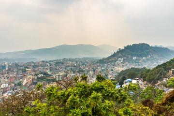 Cityscape of Kathmandu