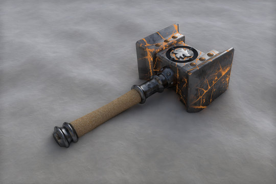 Doomhammer from World of Warcraft