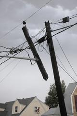 Mangled Utility Pole