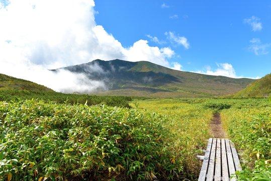 Landscape of Shiretoko, Japan
