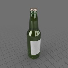 Green Beer Bottle 1