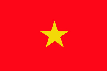 Vietnam flag ,Vietnam national flag illustration symbol.