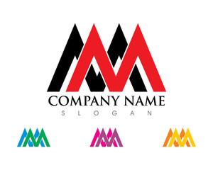 Double M Letter Logo