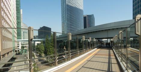 東京風景(汐留エリア)
