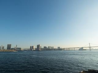 東京湾景(晴海からお台場方面)