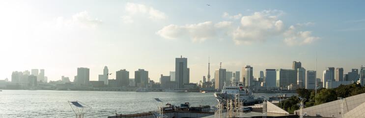 東京湾景(晴海からの高層ビル群)