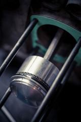 Motorcycle piston detail