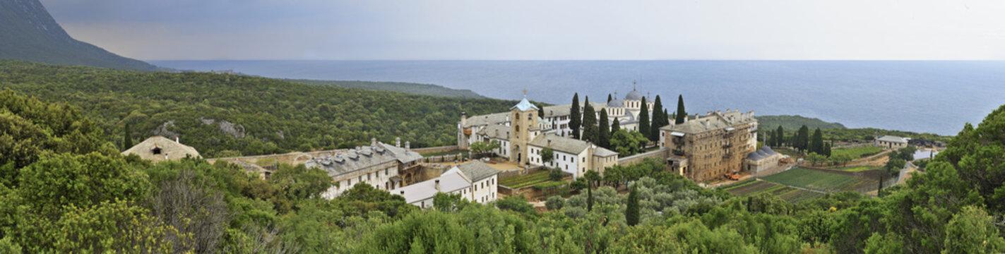 Mount Athos - Monastery