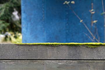 Mondrian inspired fence