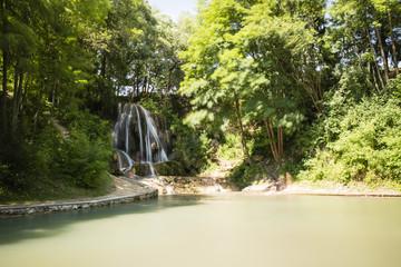 Waterfall in Lomnice Slovakia