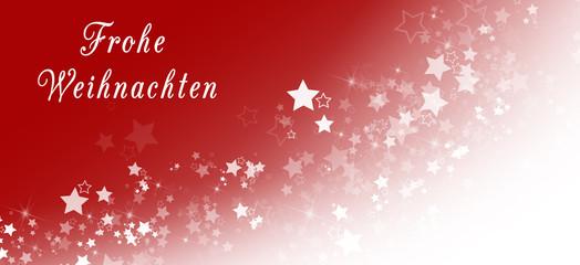 Frohe Weihnachten (im Bannerformat)