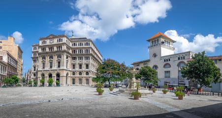 Plaza de San Francisco and Terminal Sierra Maestra - Havana, Cuba