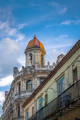 Old Havana downtown buildings - Havana, Cuba