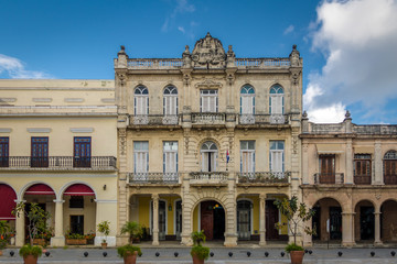 Buildings of Plaza Vieja - Havana, Cuba