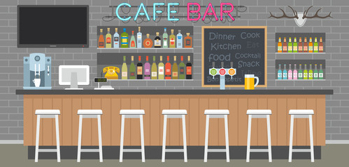 cafe bar interior