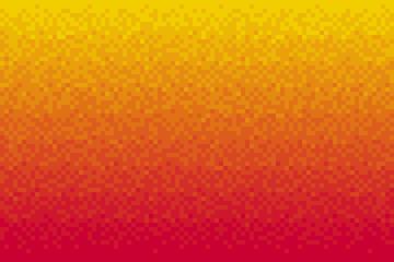 Pixel red gradient background