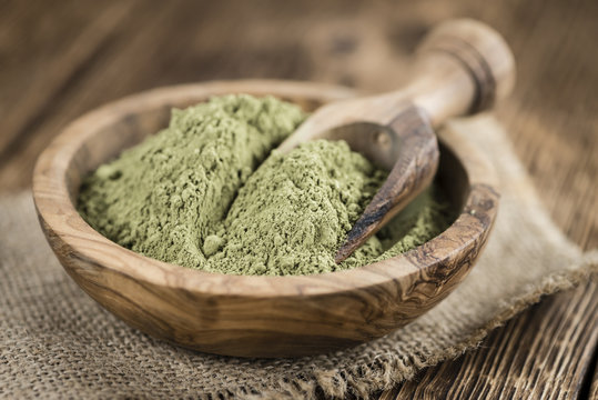 Heap of Stevia (powder)