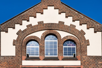 Fassade eines altes Gebäude