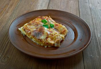 Lasagne gratinate alla emiliana