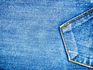 blue jeans texture background, wrinkled denim texture background