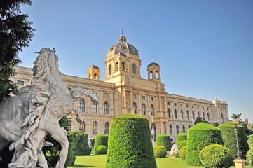 Arts and history museum, Vienna, Austria Kunsthistorisches