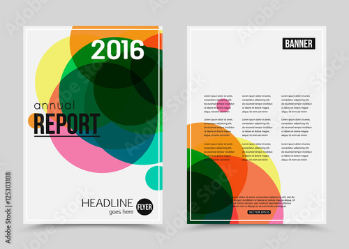 Annual Report booklet for investment companies, business