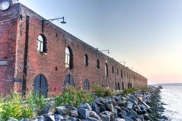 Old Red Hook Industrial Facility