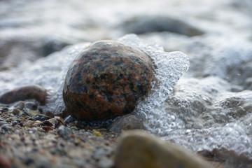 Granit, Stein, Meer, Strand