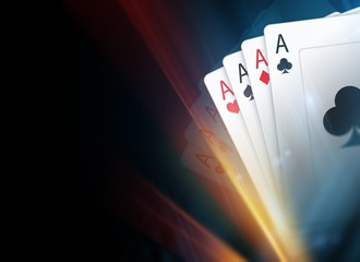 Poker Cards Background