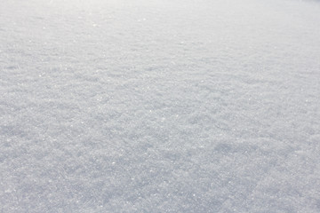 Snow texture close-up