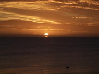 Sonnenaufgang über der Ostesee