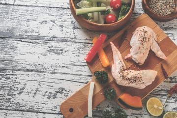 チキン 料理イメージ