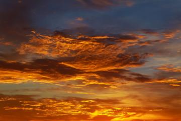 sunset red sky cloud cloudscape, landscape