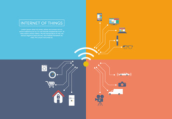 """Internet Of Things"" Illustration 1"