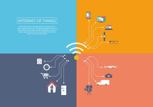 """Internet Of Things"" Illustration 1"