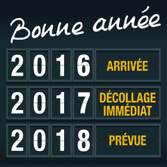 2017 - Avenir - Panneau Départ